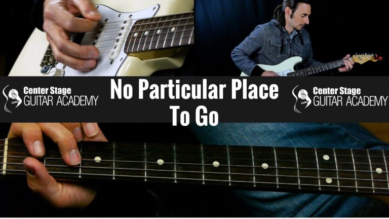 How To Play No Particular Place To Go by Chuck Berry – Guitar Lesson
