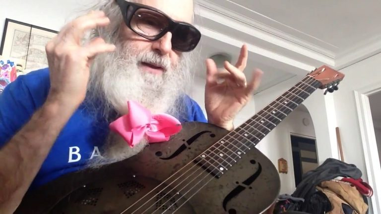 Guitar Lesson. Tutorial On How To Play Blues Guitar In Open D. Licks, Fingerpicking. Learning Method
