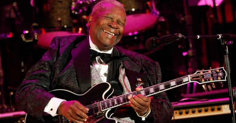 Happy Birthday To The Legendary Blues Guitarist & King of The Blues, B.B. King