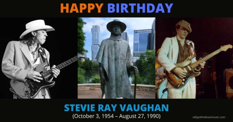 Happy Birthday to the Legendary Blues Guitarist, Stevie Ray Vaughan