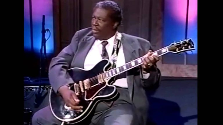 B.B. King Clinic 4/5 – Scales & Practicing