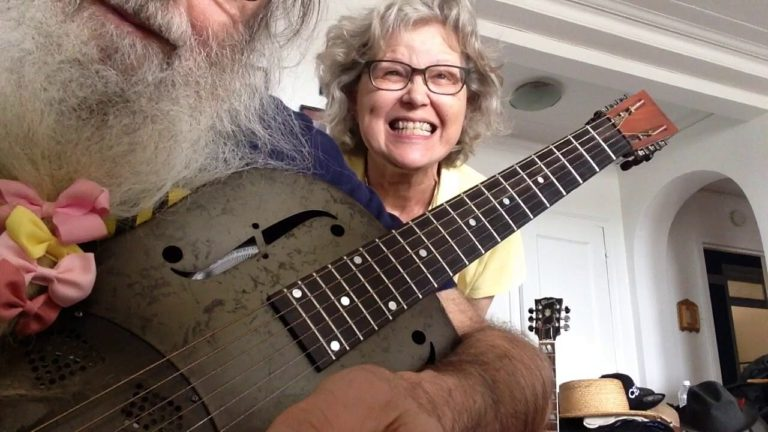 Slide Guitar Lesson In Open D. Messiahsez Shows How To Play Blues. Bo Diddley Beat. Guitar Lesson!