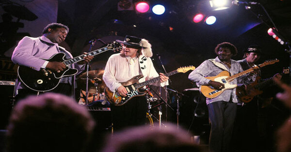 Texas Flood by Stevie Ray Vaughan, Albert Collins & BB King Live