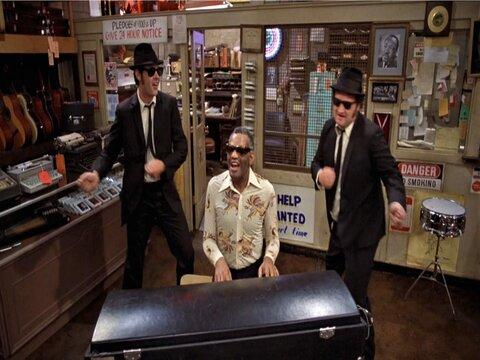 Shake a Tail Feather by Ray Charles (feat. The Blues Brothers)