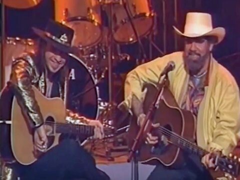 Oreo Cookie Blues by Stevie Ray Vaughan & Lonnie Mack (Live)