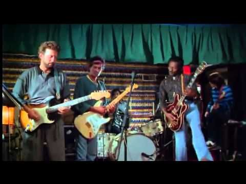 Eric Clapton, Keith Richards & Chuck Berry Live Performance in 1986