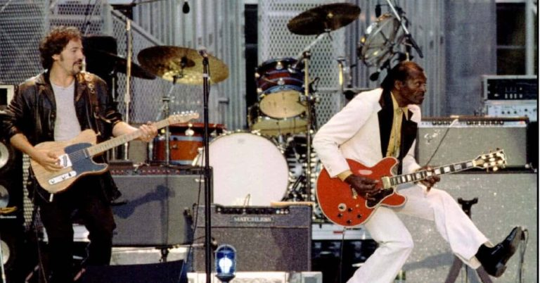 Johnny B. Goode by Chuck Berry With Bruce Springsteen & The E Street Band (Live)