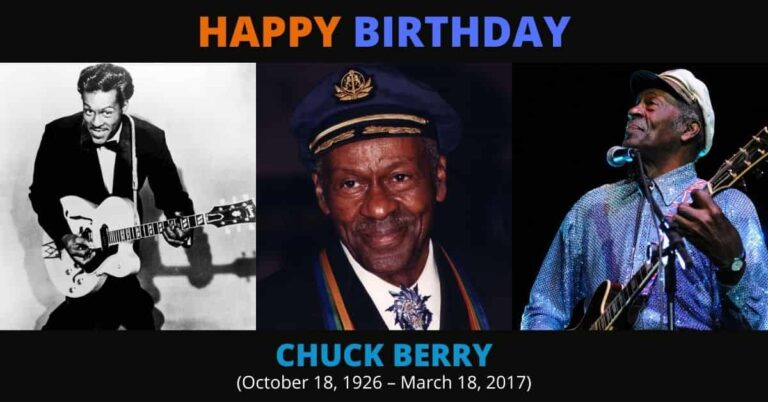 Happy Birthday to the Father of Rock and Roll, Chuck Berry